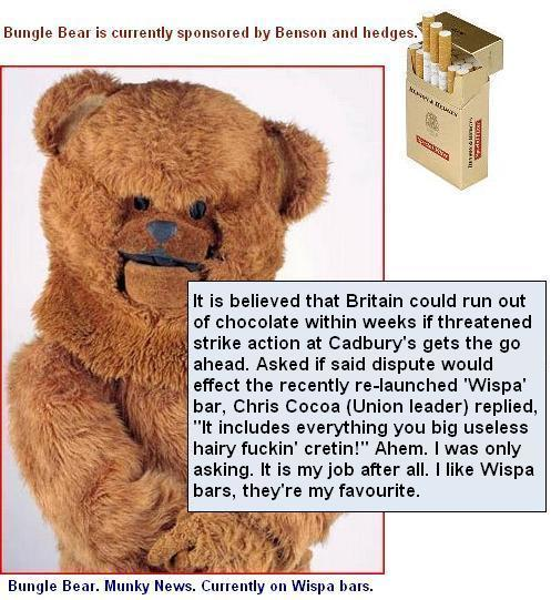 Bungle benson and hedges wispa1