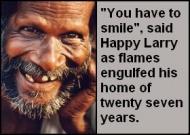 Happy larry