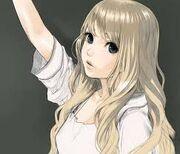 Blonde powergirl