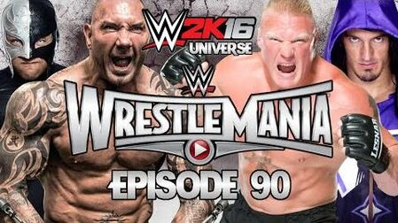 WWE 2K16 Universe - EPISODE 90 - WEEK 21 WrestleMania V