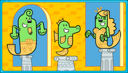 Wubbzy's Underwater Adventure Wuzzlantis Residents
