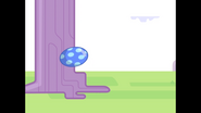 002 Kickety-Kick Ball Bounces Off Tree