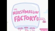 209 'The Marshmallow Factory' Sign