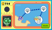 Wubbzy's Underwater Adventure Map Screen