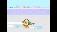 500 Wubbzy Sponge Skating