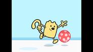 091 Wubbzy Raises Leg in Air