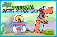 Wubbzy's Silly Speeder Title Screen