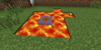 Fire clam