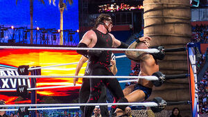 Randy Orton v Kane at Wrestlemania XXVIII