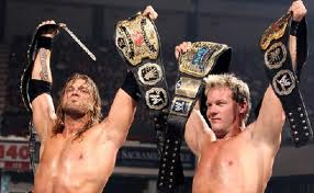 Edge and Chris Jericho
