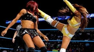 Layla vs. Alicia Fox- SmackDown, August 24, 2012