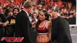 Brie Bella is arrested- Raw, Aug. 11, 2014