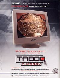 Taboo Tuesday 2004