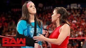 Bayley addresses her injury- Raw, Aug. 7, 2017