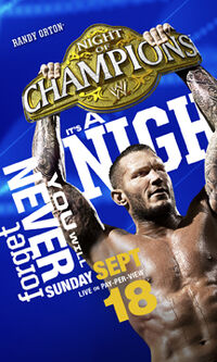 Night of Champions 2011 poster