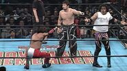 Super Crazy against Tajiri