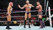 Natalya with Cesaro Kidd