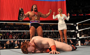 Rusev as US Champion