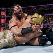Neville defeat Dorado
