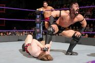Neville hurting Jack Gallahar with Dar