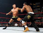 Kenny fighting JTG