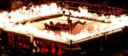 Undertaker vs Kane in the inferno match