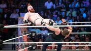 Sheamus kick back Ambrose