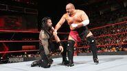 Samoa Joe taking-on Roman Reigns