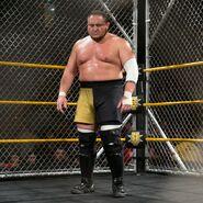 Samoa-Joe in the Steel-Cage