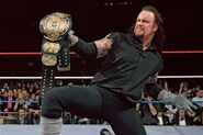 The Undertaker wins WWE Championship at Wrestlemania-13