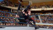 Kane fighting Bray Wyatt