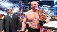 Brock Lesnar as the Universal Champion