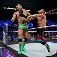 Sami Helluva Kick take Mojo-Rawly out