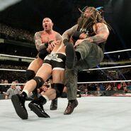 Goldberg spear both Bray-and-Randy Orton