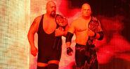 Big Show and Kane as Tag Team Champion