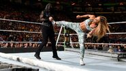Carmella superkicks Tamina