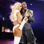 Miz with Maryse at SummerSlam