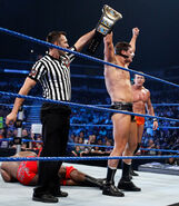 Cody-Rhodes defeating Ezekiel-Jackson