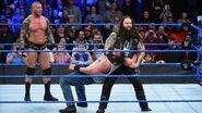Bray Randy betraying Luke Harper