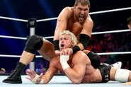 Curtis grappling Ziggler