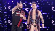 Chris Jericho with Kevin Owens