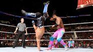 Kofi kicked by Styles