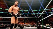 Curtis-Axel defeated The-Miz for Intercontinental Champion