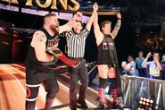 Chris Jericho and Kevin Owens ClashofChampion