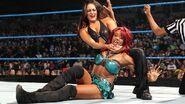 Nikki headlock Alicia