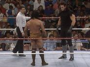 Jimmy Snuka face-to-face The Undertaker