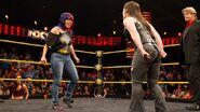 Asuka face-to-face Nikki Cross