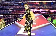 Stardust in WrestleMania 32