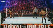 Miz vs Randy in the Royal Rumble