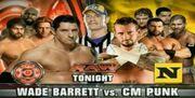 Upcoming match Wade vs CM Punk